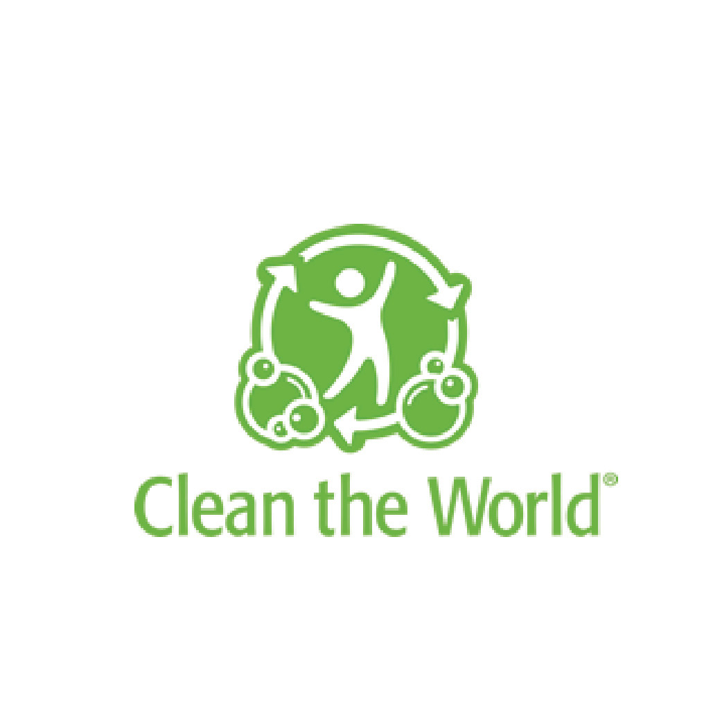 We have partnered with Clean the World!